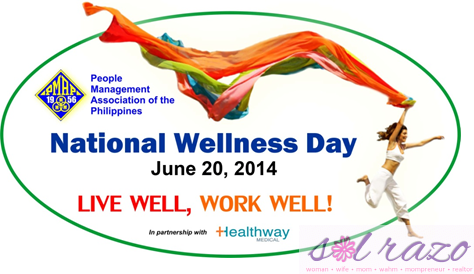 June 20 is set to be National Wellness Day