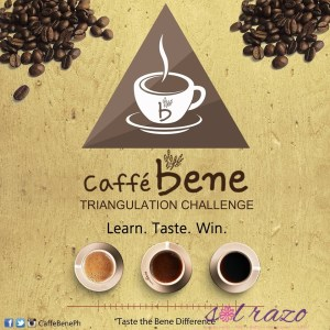 I joined the Caffe Bene Triangulation Challenge