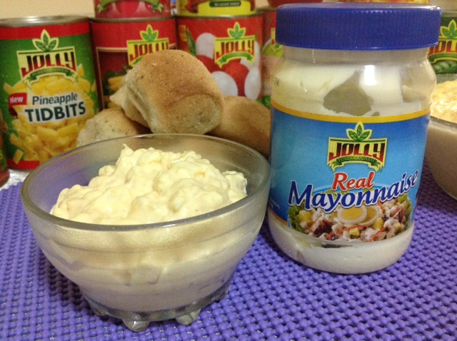 My yummy egg sandwich spread using Jolly's Real Mayonnaise