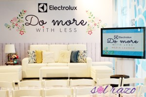 Electrolux Do More With Less at home