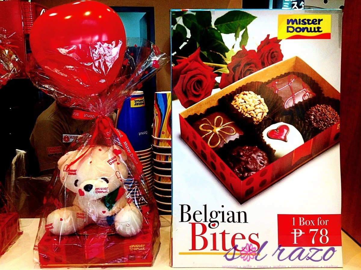 Mister Donut Belgian Love Bites for Valentine's Day 2016