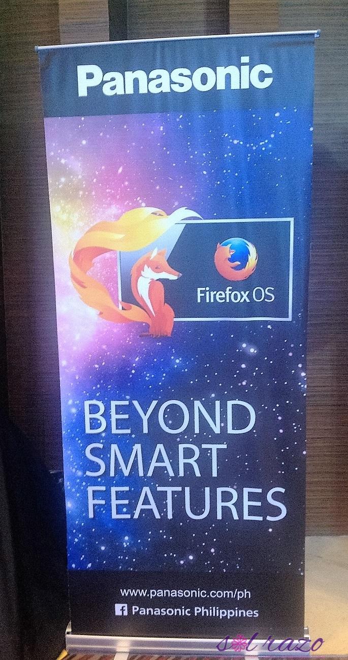 Panasonic Smart Feature - Firefox OS 2.5