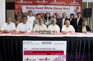 """Philam Group gives back by """"Doing Good While Doing Well"""""""