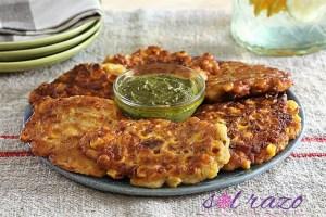 Crunchy Corn Fritters