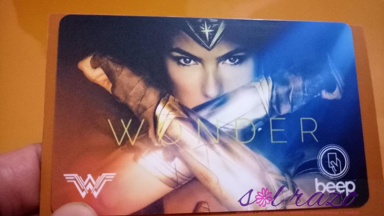 Wonder Woman Beep Card