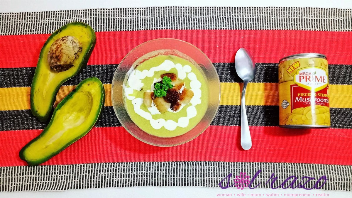 #MegaPrimeSOUPrise Recipe: Crunchy and Creamy Avocado Mushroom Soup