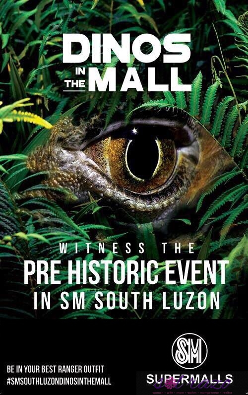 SM South Luzon features Dinos in the Mall