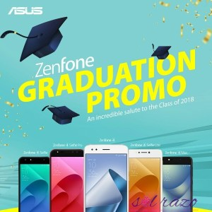 ASUS Zenfone 4 Graduation Promo, grab it now!