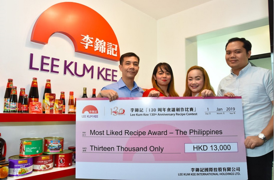 Lee Kum Kee announces winners of 130th Anniversary Recipe Contest  in the Philippines