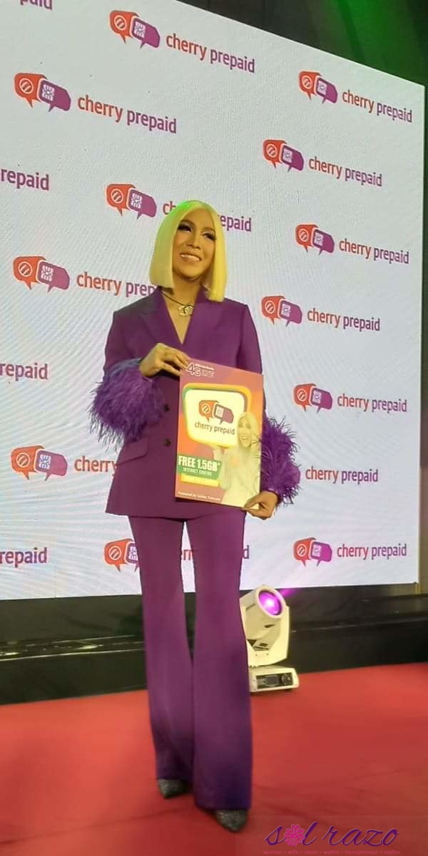 Vice Ganda is Cherry Prepaid's newest ambassador