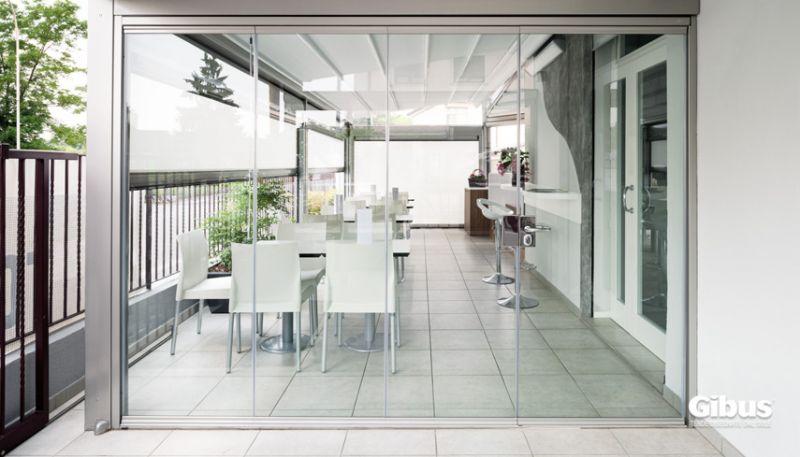 Vetrate frangivento verande vetrate e coperture Vetrate frangivento Gibus vendita Verande