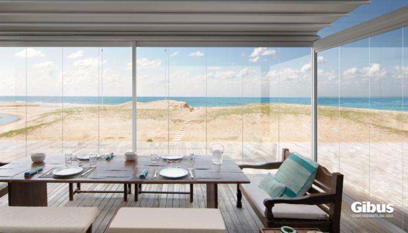 Vetrate frangivento verande vetrate e coperture Vetrate