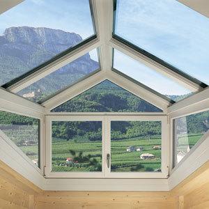Verande vetrate e coperture Abbaini e vetrate per tetto