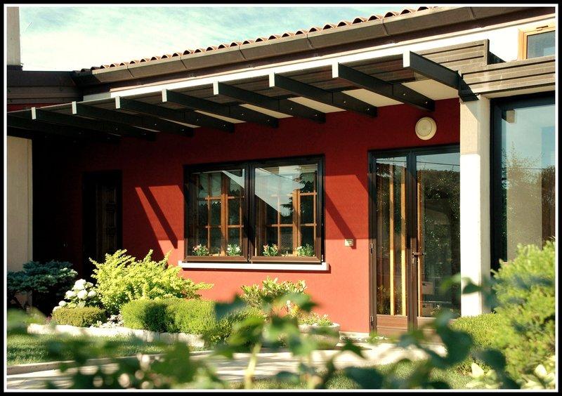 Pergole con copertura Pergolati legno Pergosystem  vendita Pergole con copertura Pergolati