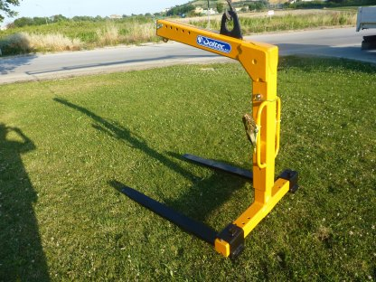 crane pallet forks