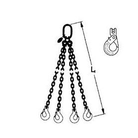 4 leg chain sling