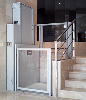 SOLTEVA ELEVACIN  Elevador Vertical corta altura EPA 1