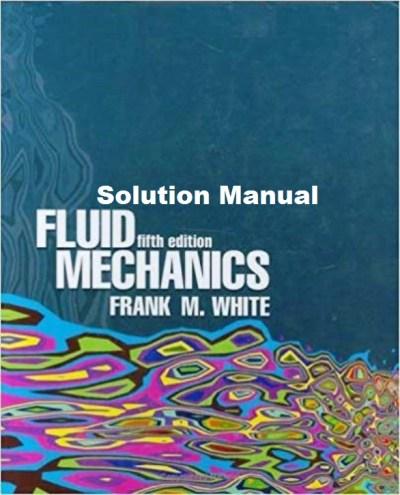 Solucionario De Mecánica De Fluidos 5ta Edición White Solucionarios