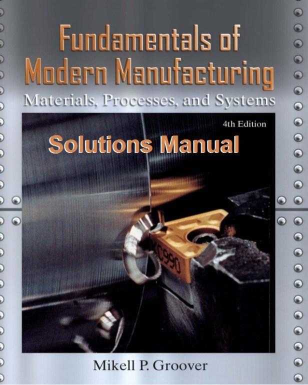 fundamentos de manufactura moderna pdf descargar gratis