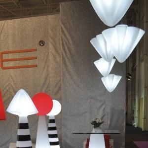 Lámpara de polietileno de Slide para exterior