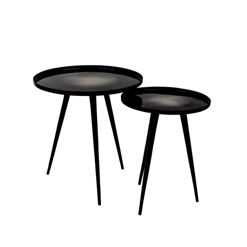 mesitas de diseño en negro