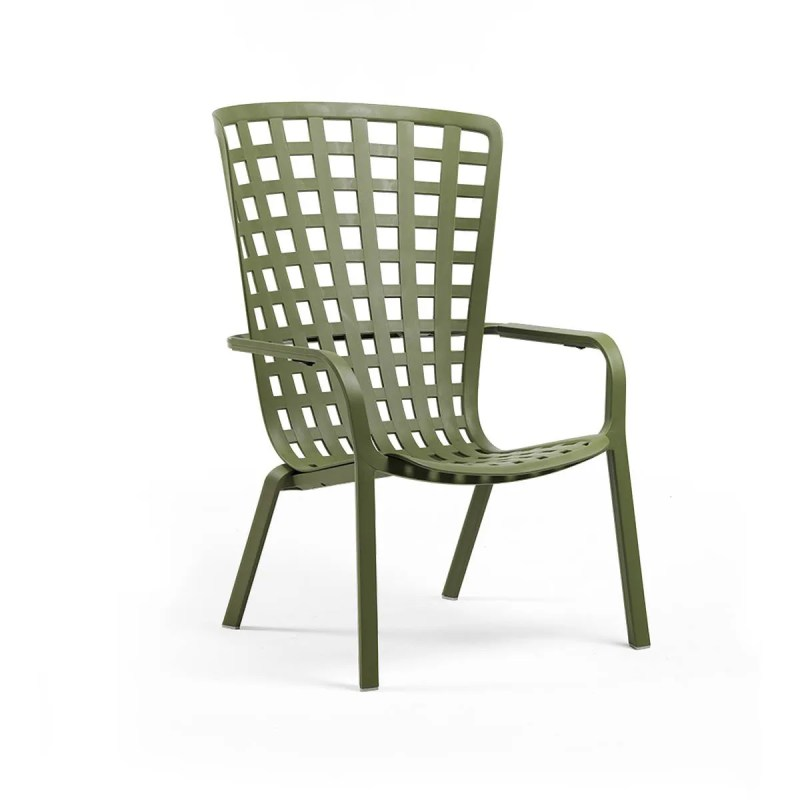 sillón. convertible.verde