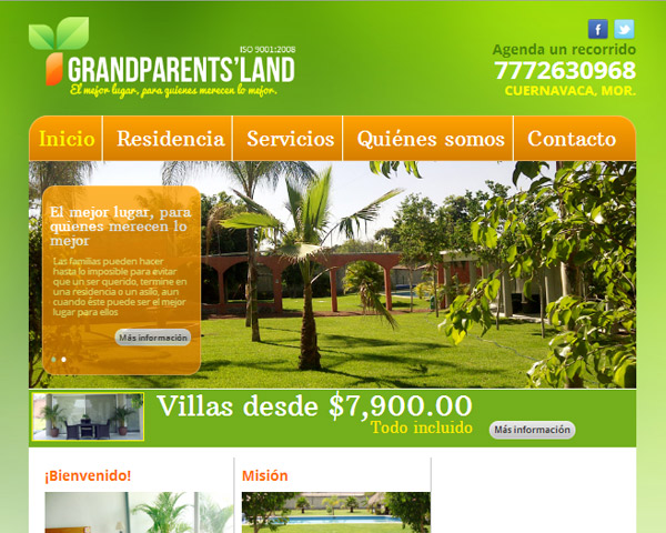 Portada Grandparents' Land