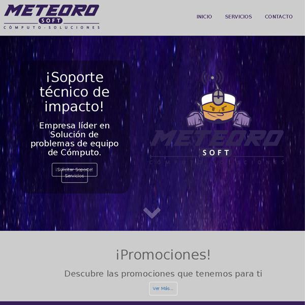 Portada Meteorosoft