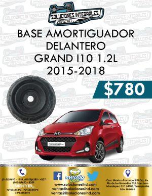 BASE AMORTIGUADOR DELANTERO GRAND I10 1.2L