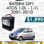 BATERIA GP1 ATOS 1.0L-1.1L