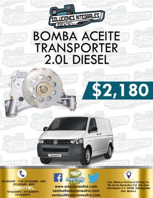 BOMBA ACEITE TRANSPORTER 2.0L DIESEL