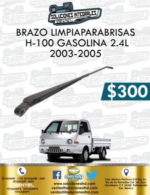 BRAZO LIMPIAPARABRISAS H100 GASOLINA 2.4L