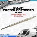 BUJÍA PRECALENTADORA 4.4V FORD TRANSIT 2.2L 2012-2014