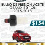 BULBO PRESIÓN ACEITE GRAND I10 1.2L 2015 – 2018