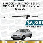 DIRECCIÓN ELECTROASISTIDA ORIGINAL ATTITUDE 1.4L-1.6L 2006-2011
