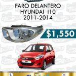 FARO DELANTERO DER. O IZQ. I10 1.1L 2011-2014