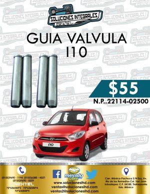 GUÍA VÁLVULA I10 1.1L