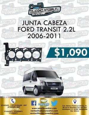 JUNTA CABEZA FORD TRANSIT 2.2L 2006-2011