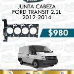 JUNTA CABEZA FORD TRANSIT 2.2L 2012-2014