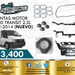 JUNTAS MOTOR FORD TRANSIT 2.2L 2012-2014
