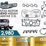 JUNTAS MOTOR NISSAN CABSTAR 2.5L DIESEL