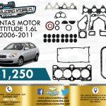 JUNTAS MOTOR ATTITUDE 1.6L 2006-2011