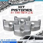 KIT PISTONES H1 VAN THETA 2.4L