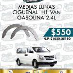MEDIA LUNA CIGUEÑAL H1 VAN THETA 2.4L