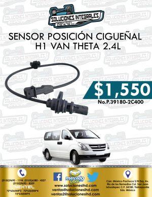 SENSOR POSICIÓN CIGUEÑAL H1 VAN THETA 2.4L