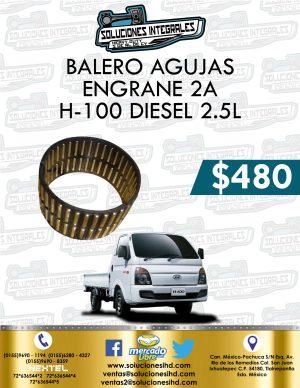 BALERO AGUJAS ENGRANE 2A H100 DIESEL 2.5L