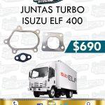 JUNTAS TURBO ISUZU ELF 400