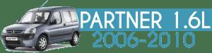 PARTNER 1.6L 2006-2010