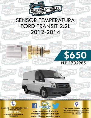 SENSOR TEMPERATURA FORD TRANSIT 2.2L 2012-2014