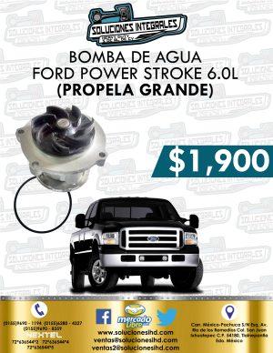 BOMBA AGUA PROPELA GRANDE FORD POWER STROKE 6.0L